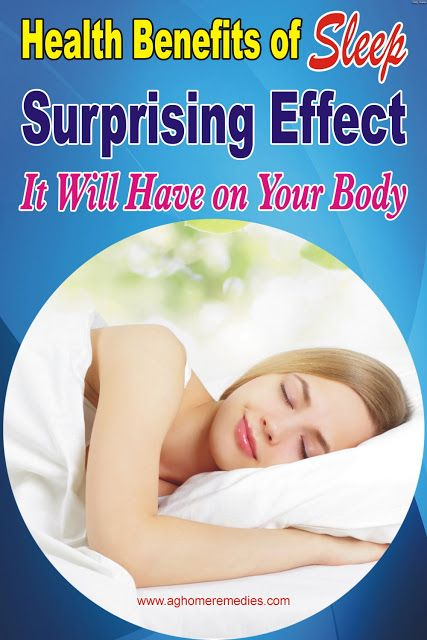 5 Health Benefits of Sleep Surprising Effect it Will Have ...