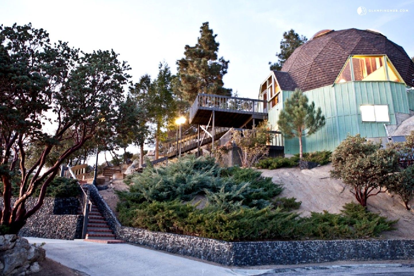 Remarkable Dome Vacation Rental In Idyllwild California Idyllwild Vacation Rental Dome House
