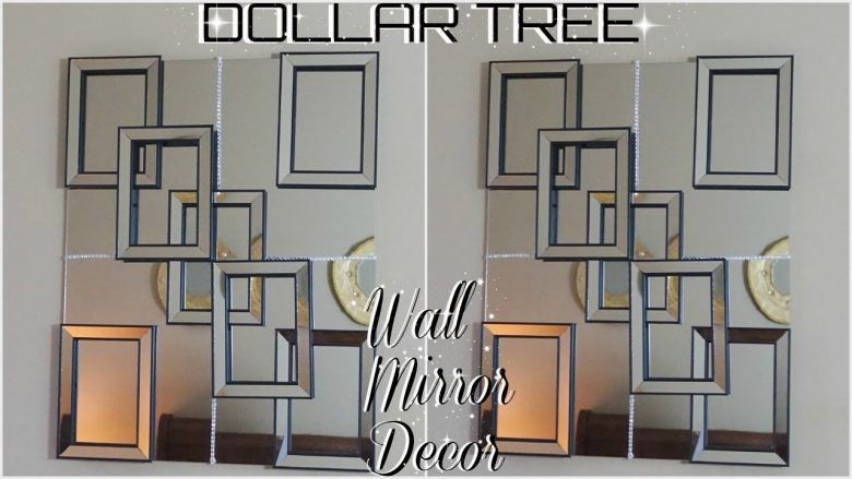 Diy Dollar Tree Diy Mirror Decor Diy Wall Decor Home Decor