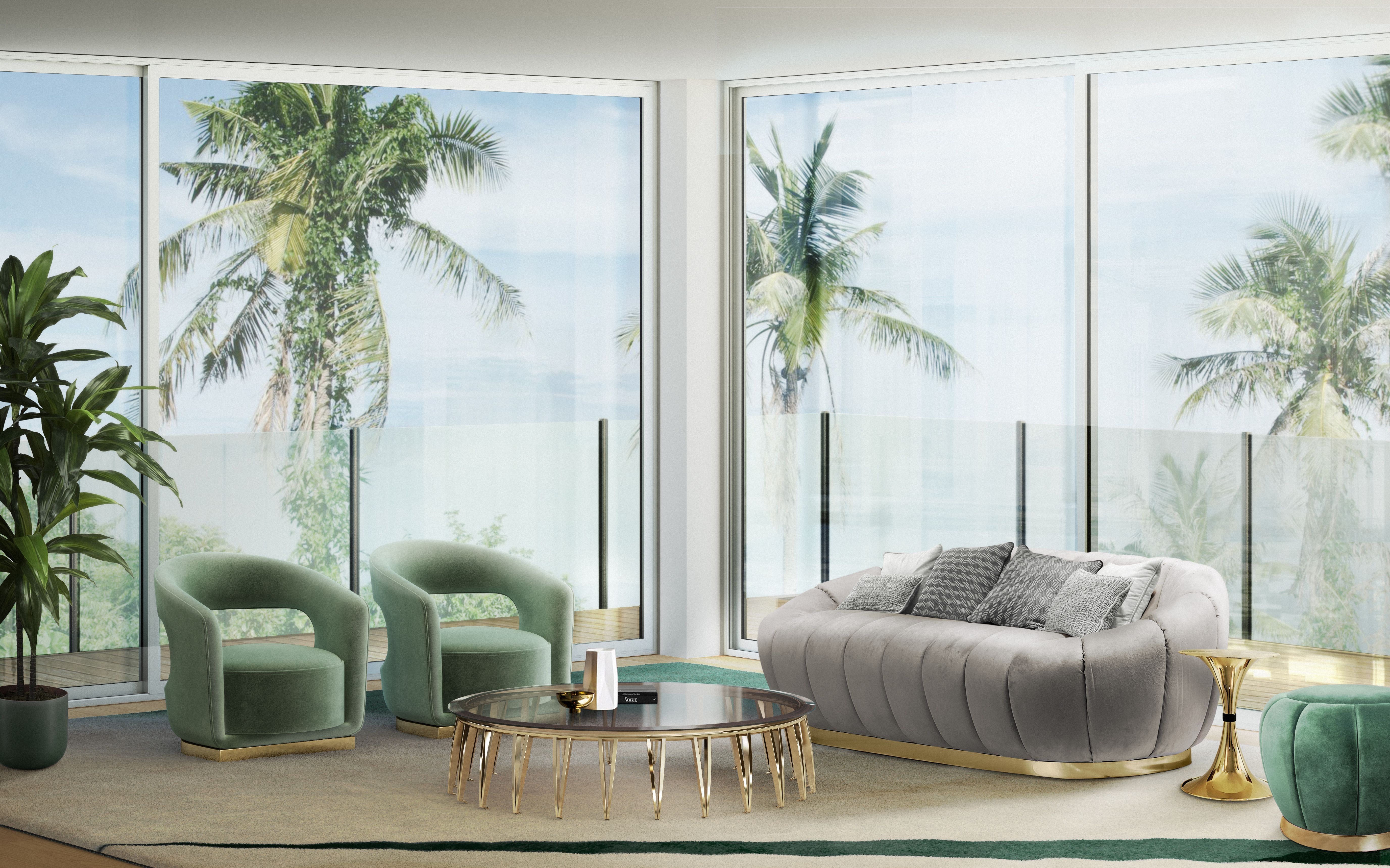 Florence Sofa Comes As The Perfect Match For Florence Stool