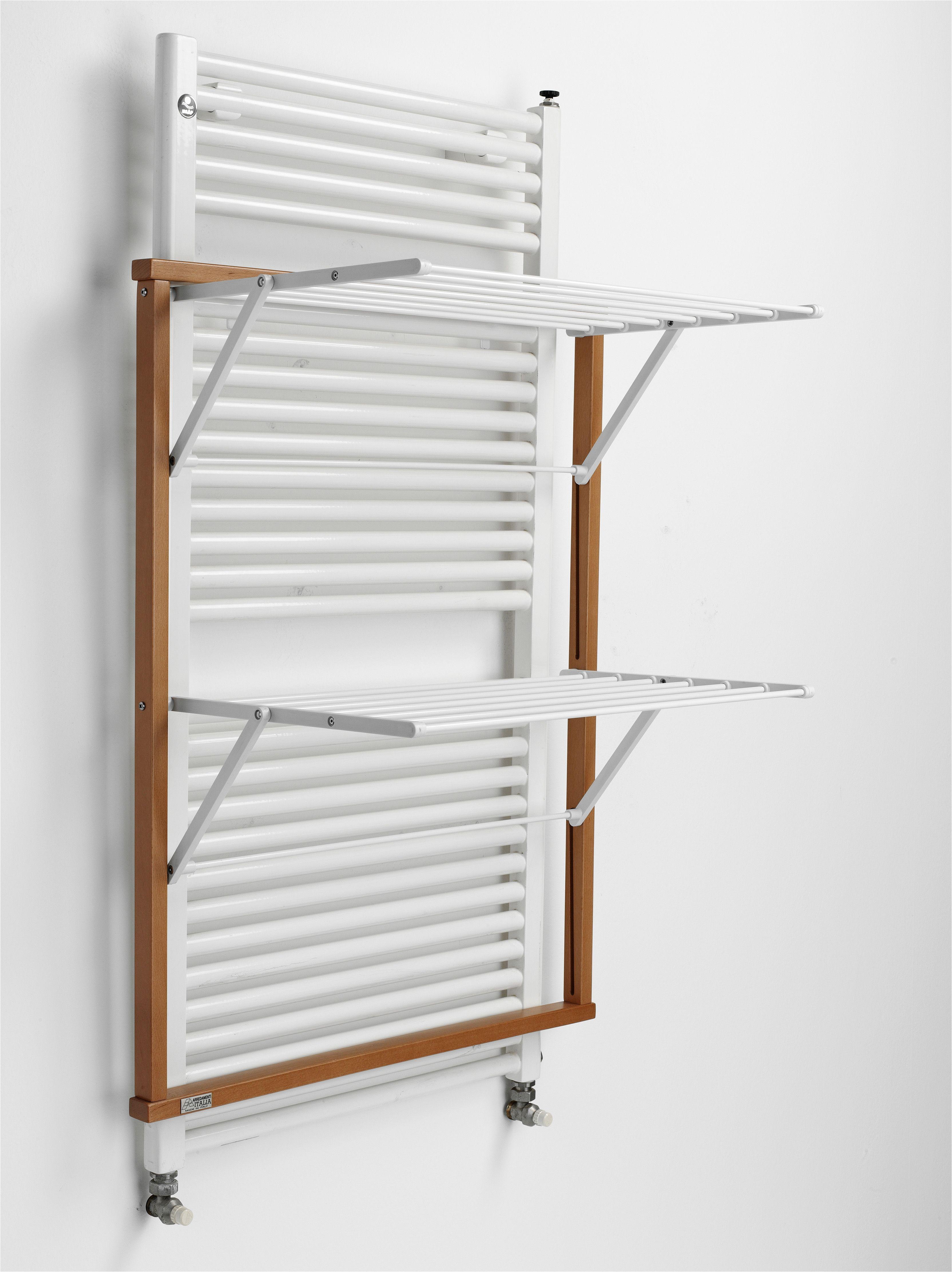 w schest nder mit buchenholzrahmen f r wandheizk rper laundry rack with beechwood frame for. Black Bedroom Furniture Sets. Home Design Ideas