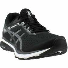 asics gt1000 7 casual running stability shoes  black