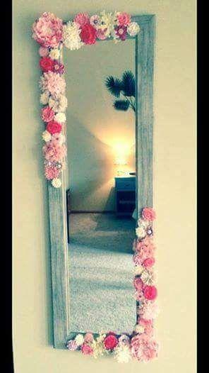 Ideas Originales Para Decorar Espejos Decoracion Del Hogar Diseno - Ideas-para-decorar-con-espejos