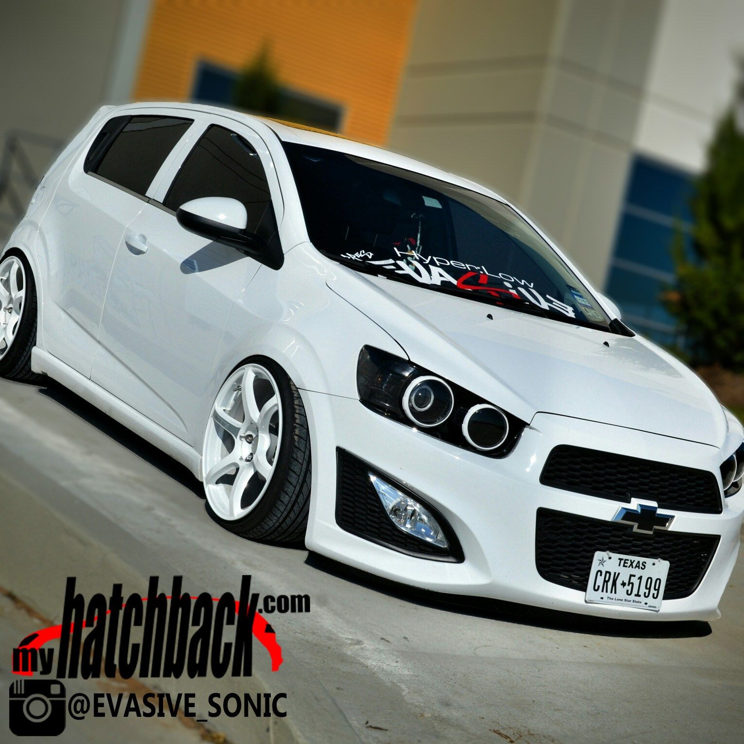 Anthony S 2013 Chevy Sonic Hatchback Aka White Shadow From Team