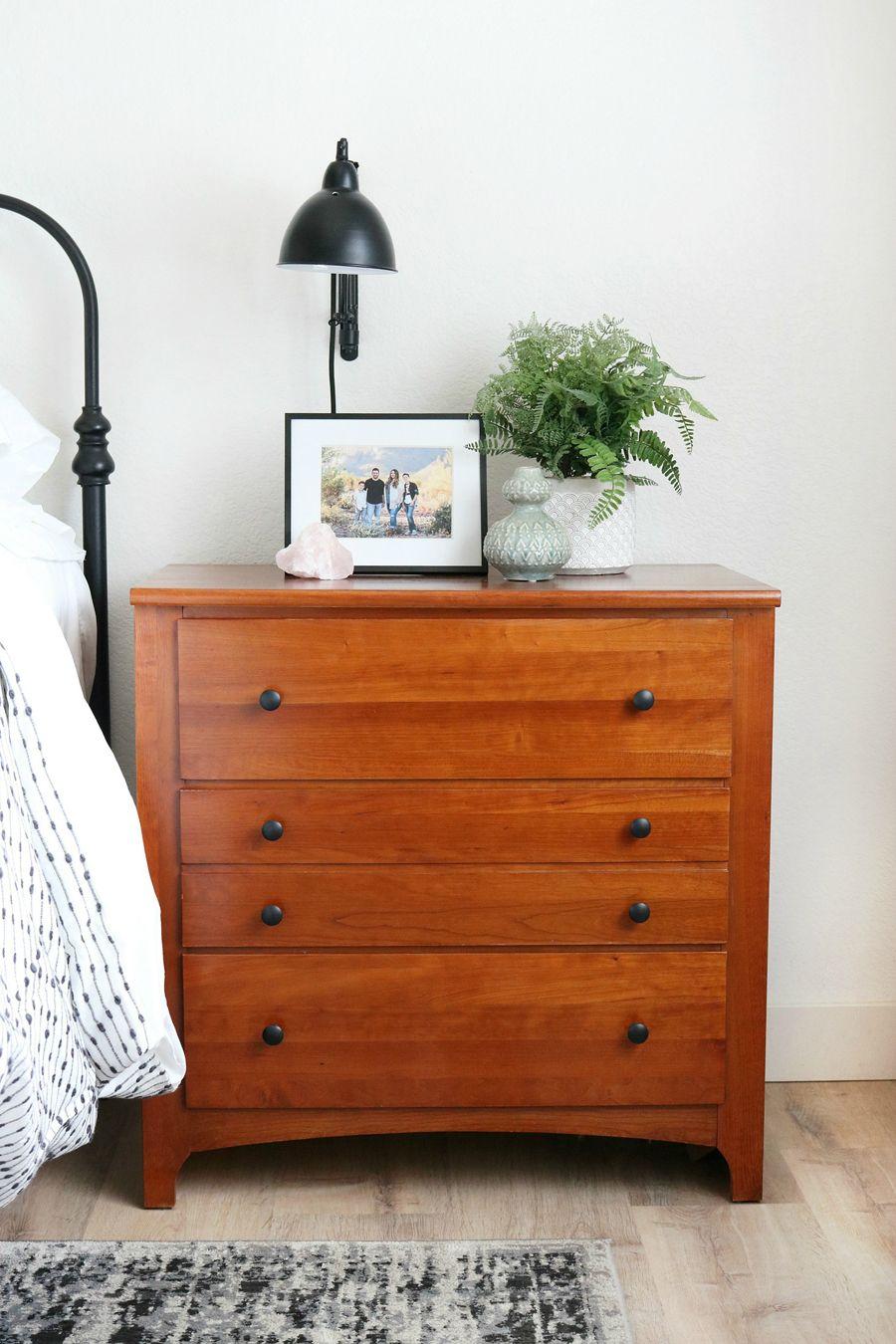 Black & White Boho Inspired Bedroom Makeover White