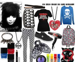 Emo Polyvore Outfits for Girls | JonelleJeopady's Polyvore - Polyvore