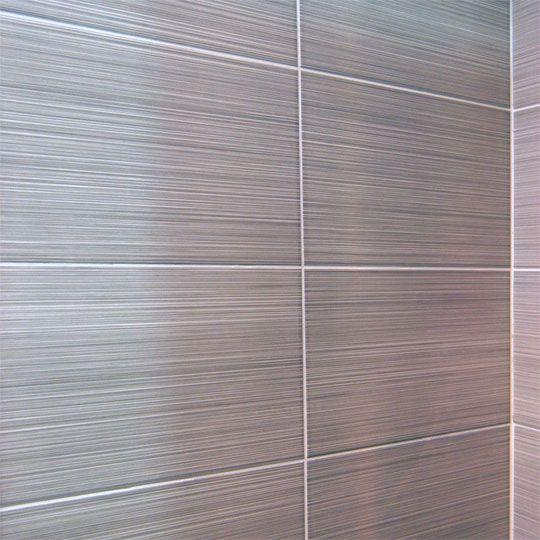 Pin By Michael Macdonald On Bathrooms Pinterest Bathroom Tiles - Grey-bathroom-wall-tile