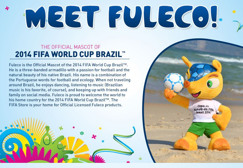 Here S The Fifa World Cup 2014 Mascot Why Not A Female One Too Sports Marketing Fan Engagement Portuguese Words