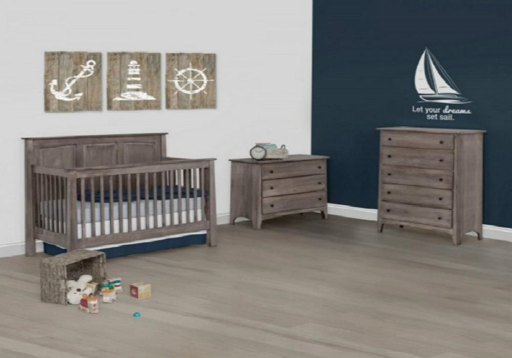 Shaker Convertible Crib and Matching Furniture Set | Baby\'s Room ...