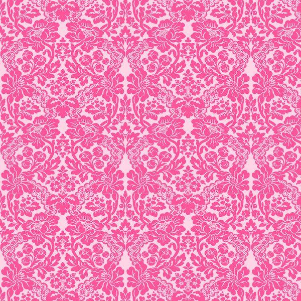 Free Digital Pink Damask Scrapbooking Paper Ausdruckbares
