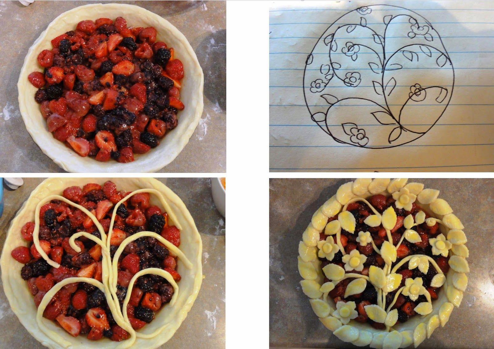 پای انواع توت Berry Pie