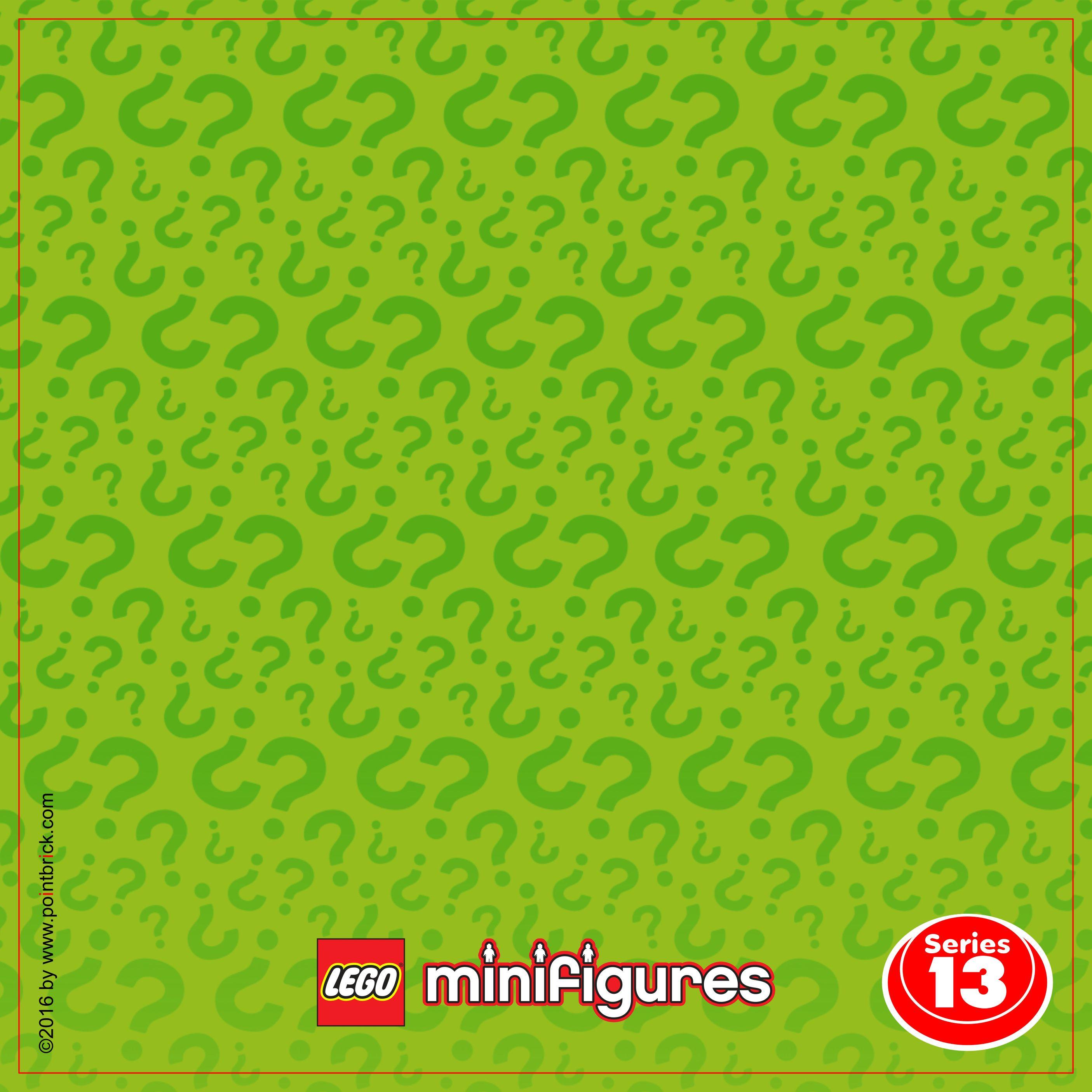 LEGO Minifigures Display: Sfondi Serie 12 e 13