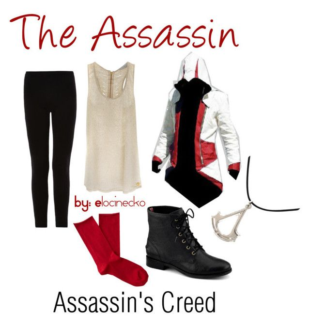 """""""The Assassin"""" by elocinecko ❤ liked on Polyvore featuring Carlos Miele, Isabel Marant, Bleuforêt and Sperry Top-Sider"""