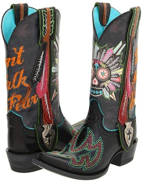 Gypsy Soule Ariat Indian Sugar Skull Cowboy Boots $459.95 http ...