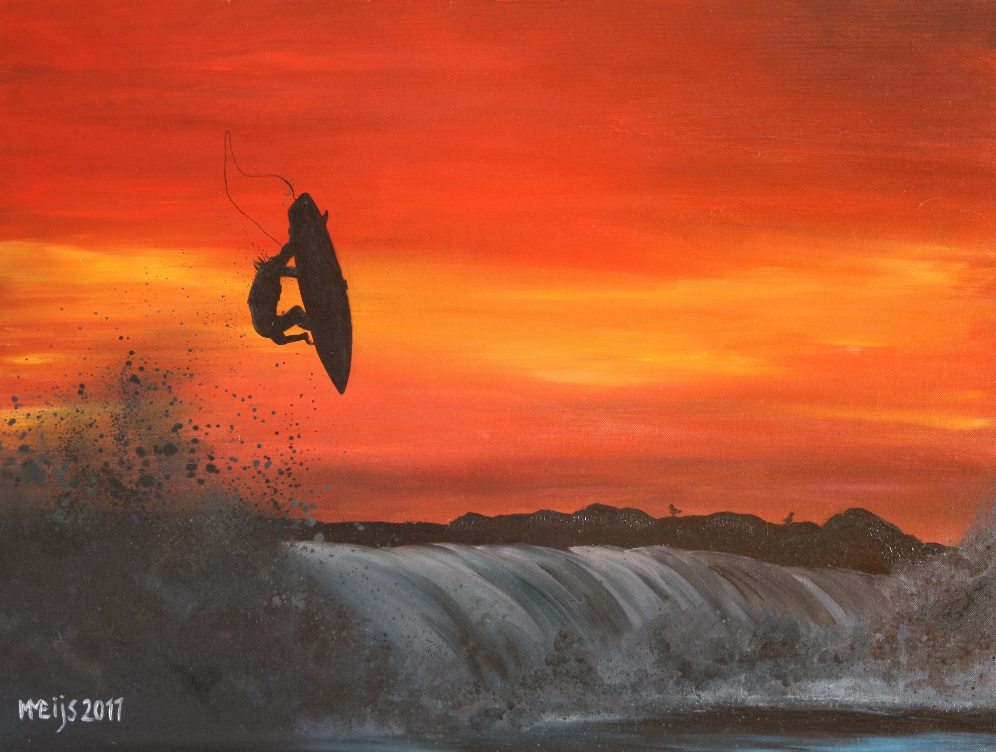 Created by SurfArt check www.SurfArt.nl for details #surfart #surf #painting