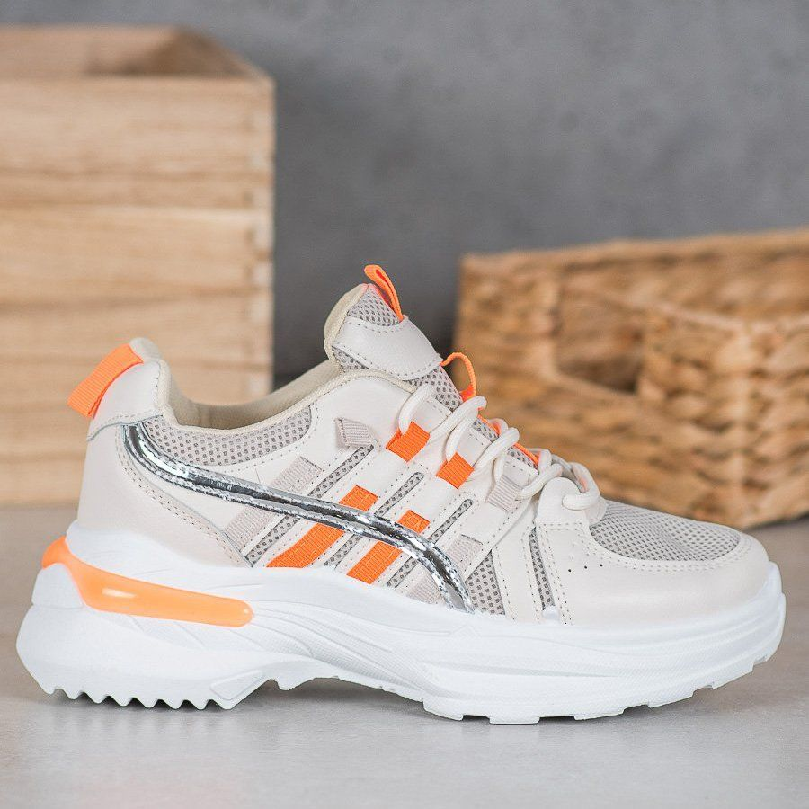Shelovet Modne Buty Sportowe Na Platformie Wielokolorowe Shoes Asics Sneaker Sneakers
