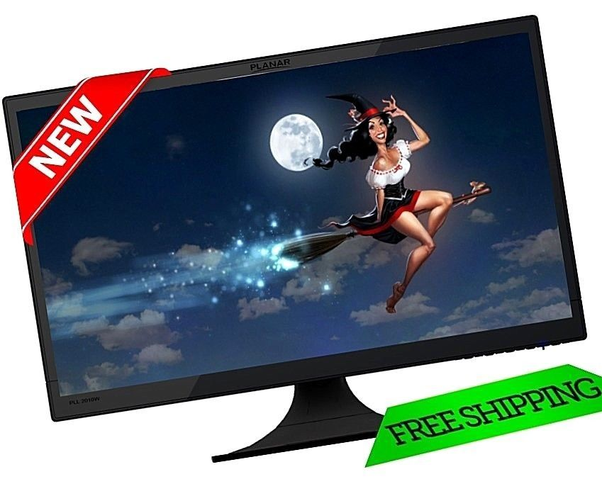 Marvelous 20 Inch Screen Planar LED Lit Monitor VESA Mountable 1600 X 900 Screen  Display