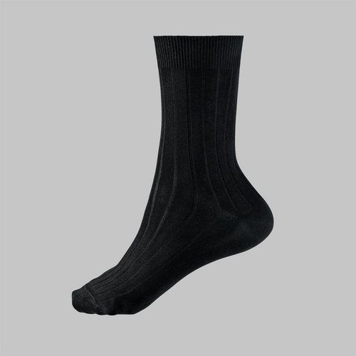 4288985f3a6b Black socks. Every guy should have a drawer full of black, calf-length