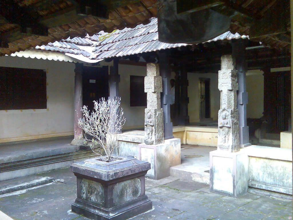 Inner Quadrangle of a Nalukettu, or traditional house, Kerala