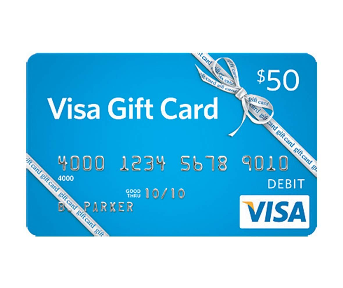 Where can you use a Visa Gift card?