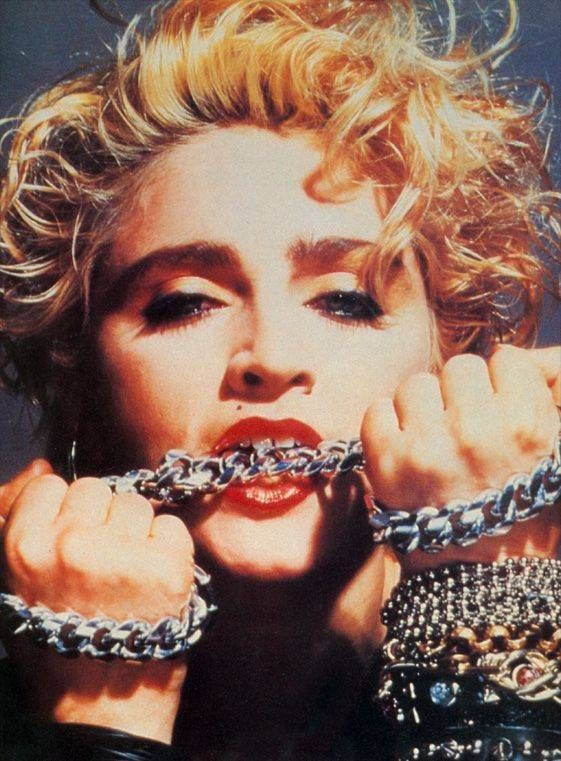 Madonna's first album (1983) By Gary Heery