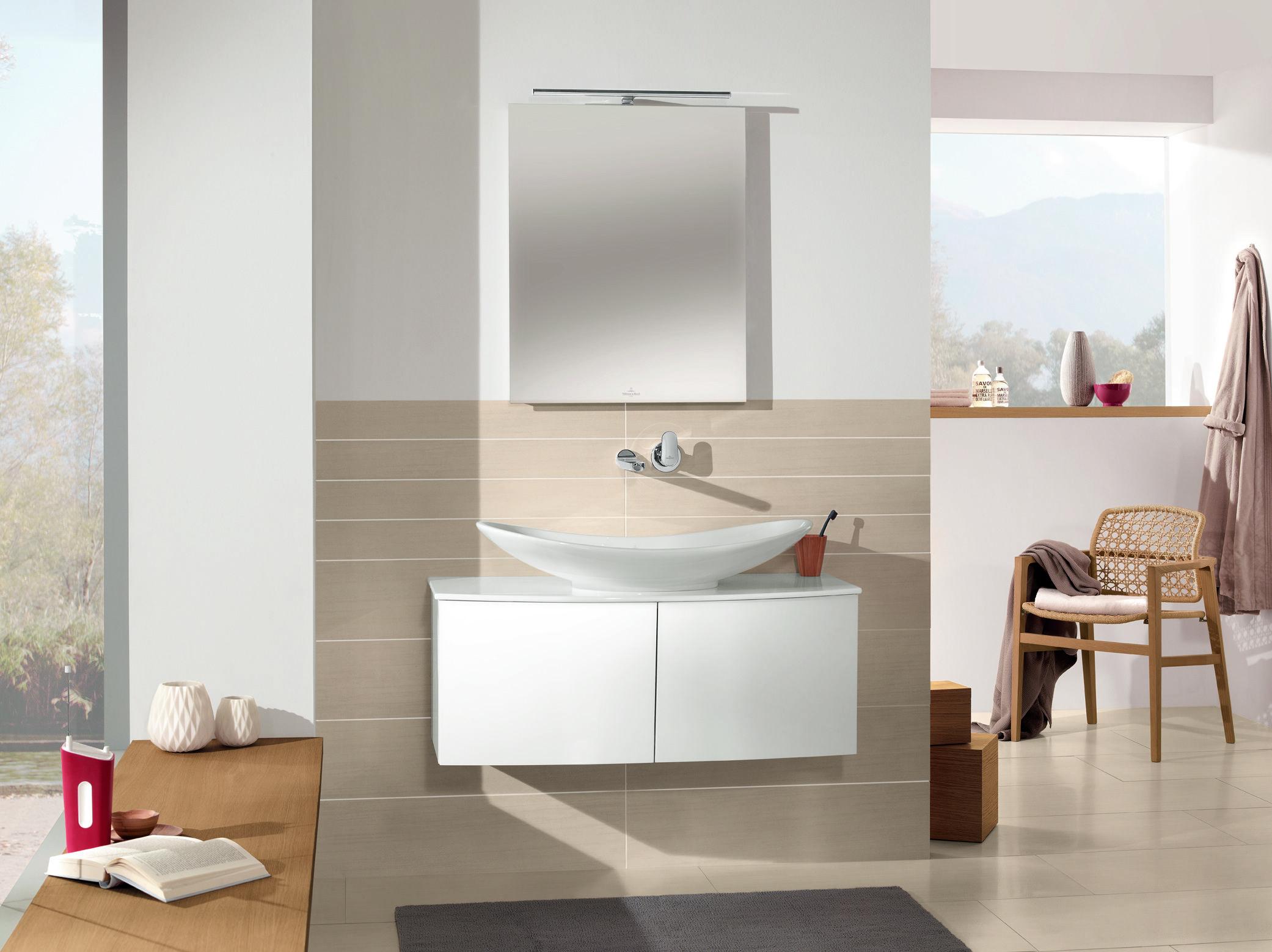 Fliesen mit dem gewissen Extra: Badezimmer von Villeroy Boch http ...