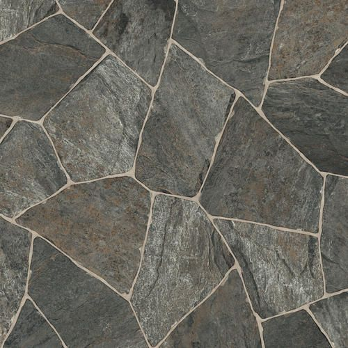Ivc impact sheet vinyl flooring slate charcoal 97 12ft wide at menards 98 sq ft basement Slate tile flooring