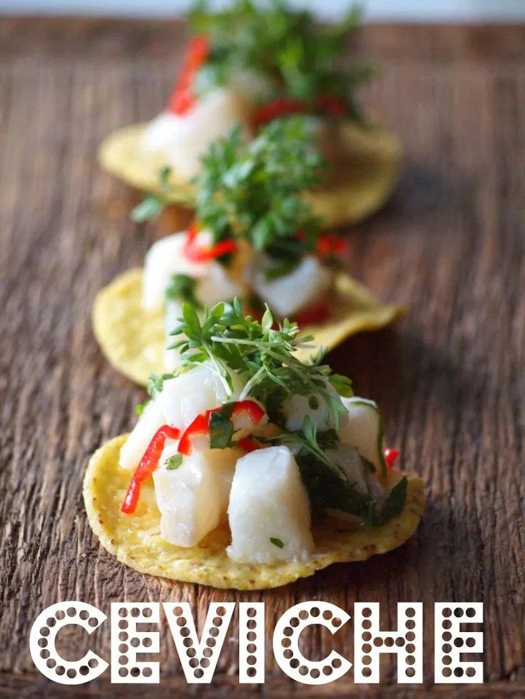 Hip hapje: Snelle Ceviche #koudehapjes