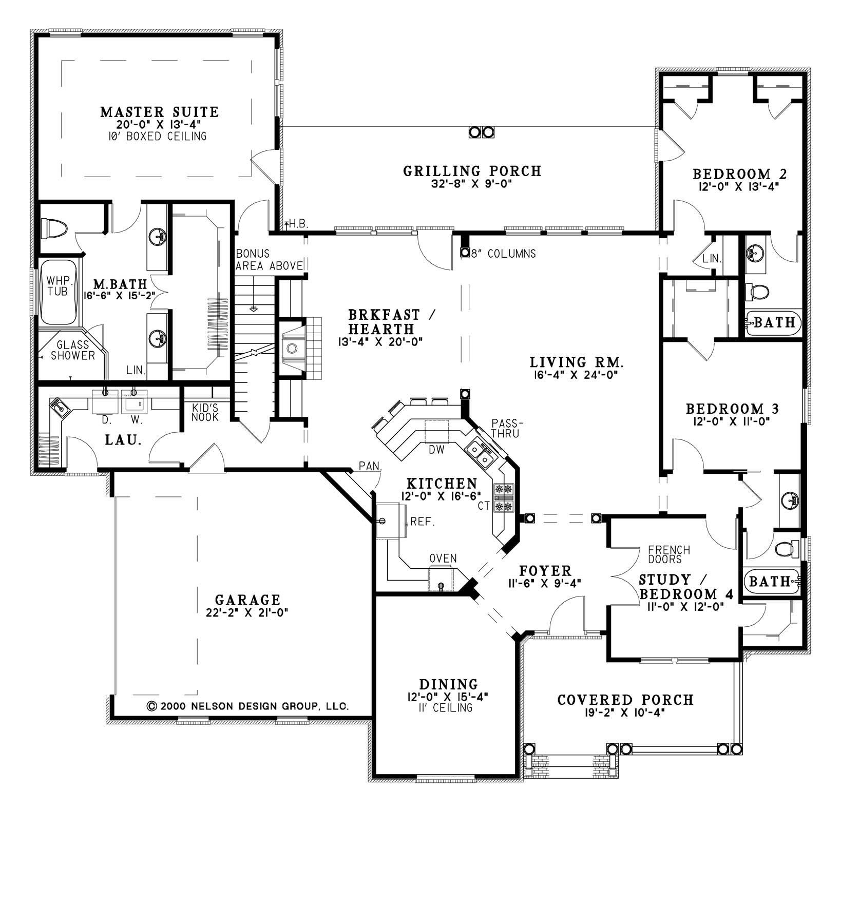 Southland Custom Homes Custom Home Builder In Georgia House Plans And More House Plans Country Style House Plans