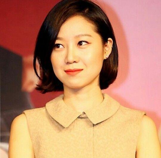 Pin By Fern Chou On Gong Hyo Jin Chin Length Hair Medium Hair Styles Short Hair Styles