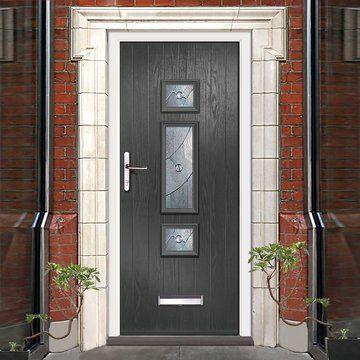 External Virtuoso Chapleton B3 Asti Composite Door Shown