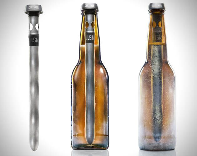 Beer Never Drink A Cold Beer Again with Chillsner