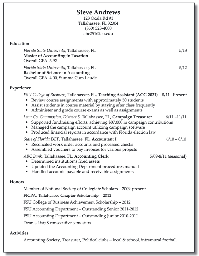 Resume For Accounting Clerk Examples Resume Cv