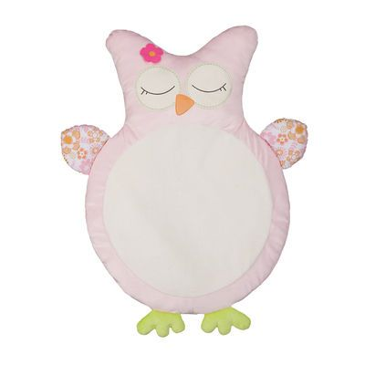 Tummy Time Is Hoot On This Sweet Pink Play Mat Baby