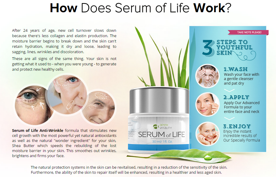 Serum Of Life Apex Vitality Google Search Wrinkle Free Skin Vitamins For Skin Life Review