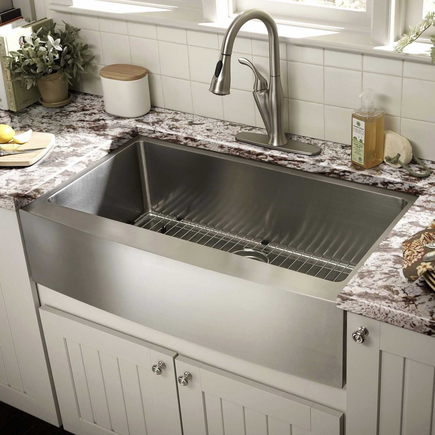 Individuals Often Have Problem With With Corner Kitchen Sink Layout Ideas When They Ar Farmhouse Sink Kitchen Best Kitchen Sinks Stainless Steel Farmhouse Sink