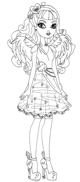 colorir ever after high - Pesquisa Google | croquis | Pinterest ...