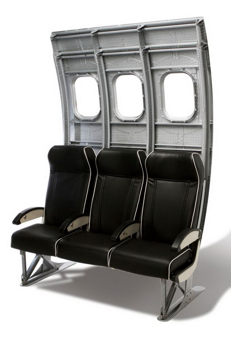 Incredible Aircraft Furniture From Airline Seating Airplane Decor Machost Co Dining Chair Design Ideas Machostcouk