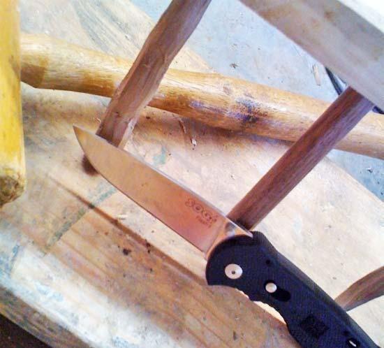 Homemade Wooden Hay Rake 3