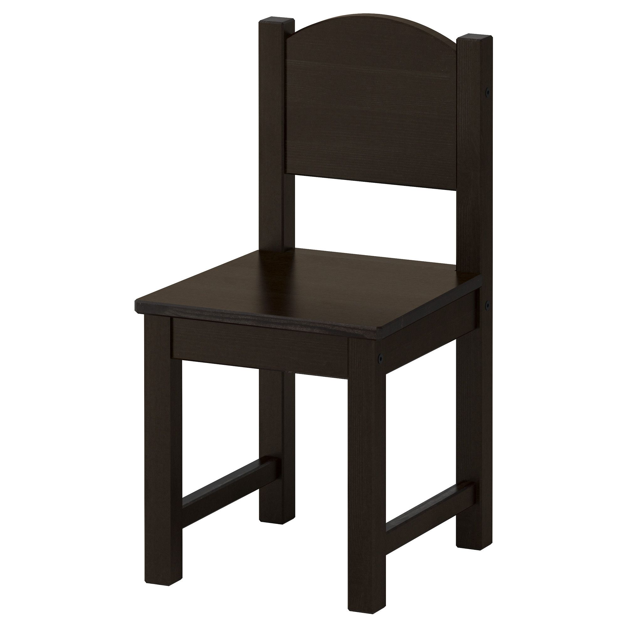 SUNDVIK Childrenu0027s Chair, Black Brown
