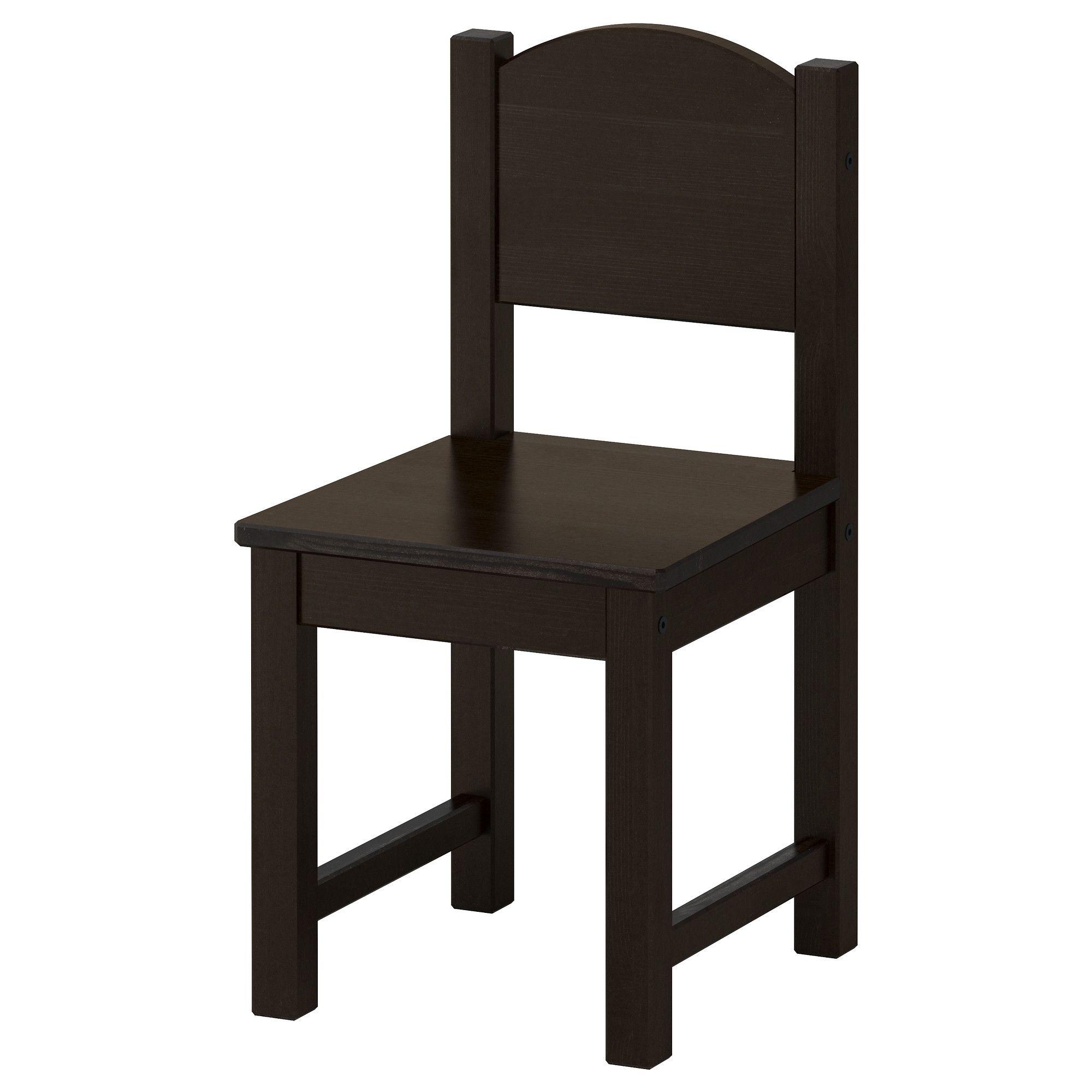 sundvik children 39 s chair black brown ikea i 39 d probably let it be known i will possess. Black Bedroom Furniture Sets. Home Design Ideas