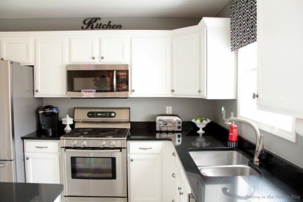high quality painted white kitchen cabinets and new appliances10 kitchen