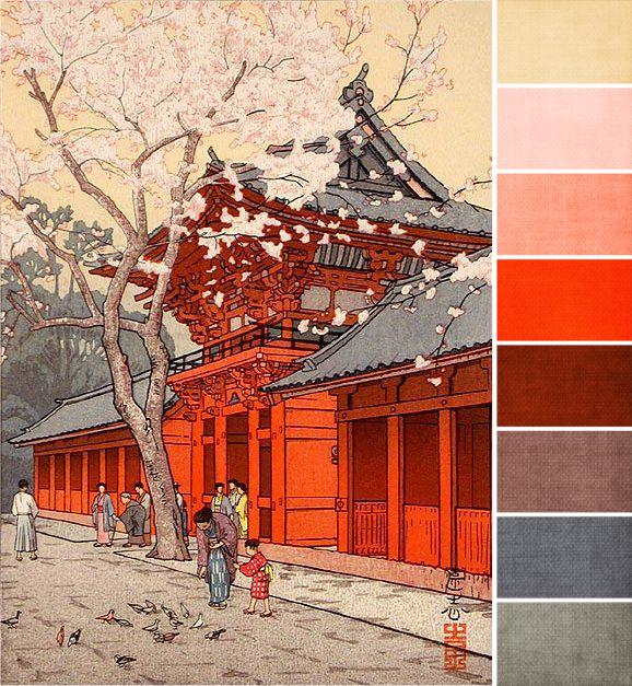 February 2013 Challenge Color Palette Inspiration Art Pinterest