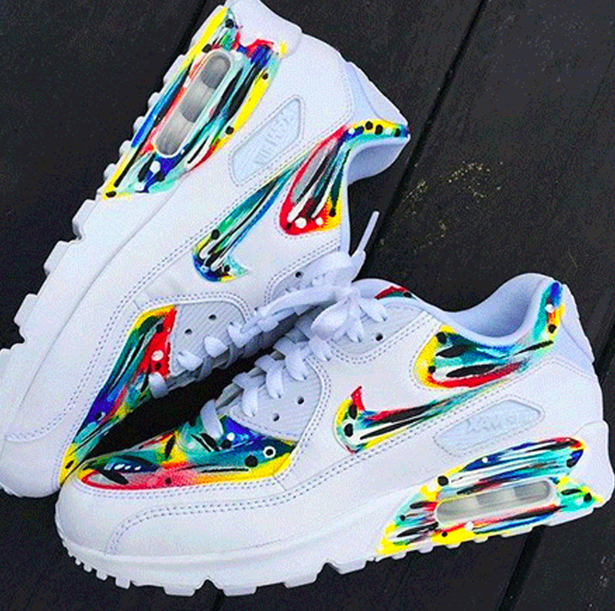 bb890ab5450 Dope Air Max 90 Custom