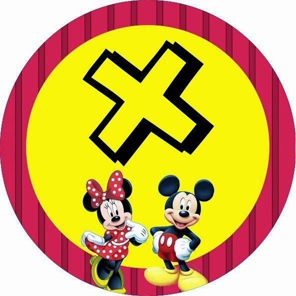 Alfabeto de Minnie y Mickey especial para Fiestas. | Oh my Alfabetos!