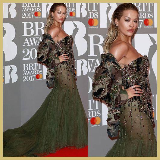 Rita Ora, BRIT Awards 2017, MyFashgram, BRIT Awards 2017, MyFashgram