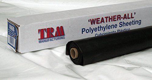 Trm Manufacturing 41650b Weatherall 4 Mil Poly Plastic Sh Https Www Amazon Com Dp B0719hxhdv Ref Cm Sw R Pi Dp U X N Plastic Sheets Plastic Use Of Plastic