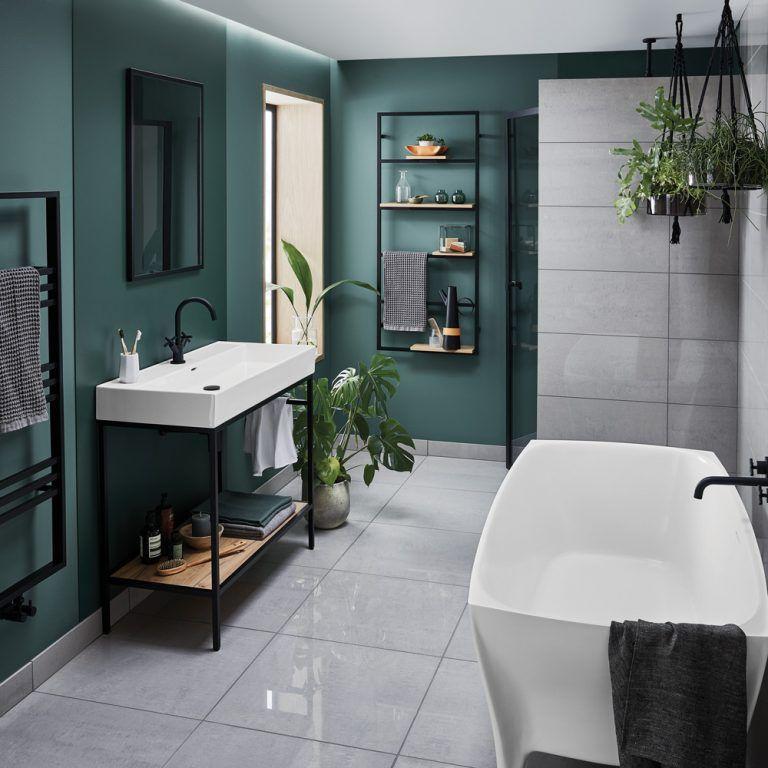 10 Best Compact Space Saving Basins For Small Bathrooms Perfect Home Ideas Black Bathroom Bathroom Interior Design Bathroom Design Decor
