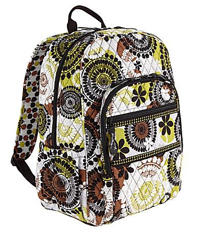 417e95f8ac3c Vera Bradley Campus Backpack  Dillards Really digging this print ...