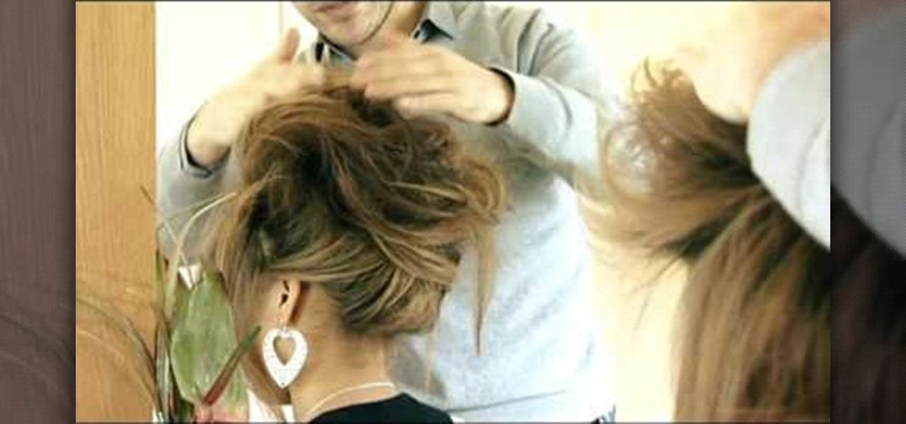 How to Create the beehive hair style « Hairstyling